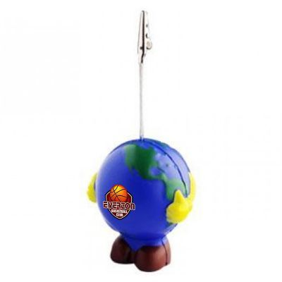 S129 Earth Note Holder Imprinted Note Holder Stress Balls