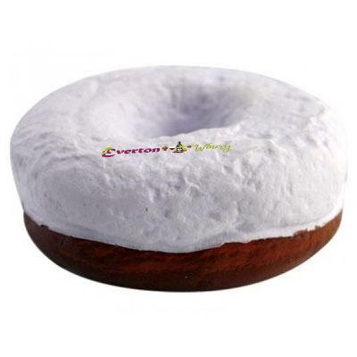S147 Donut Brown Promotional Food Stress Shapes