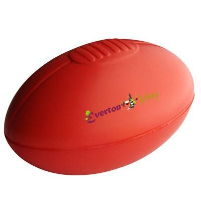 S19 Sherrin Red Printed Sports Stress Shapes