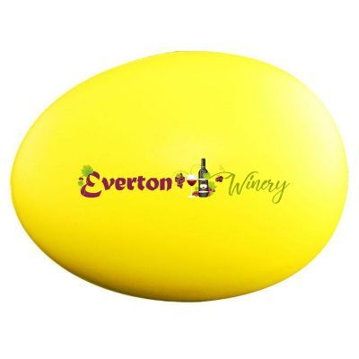 S91 Egg Yellow Personalised Food Stress Shapes