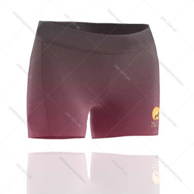 SH4S-L+CL Ladies Full Custom  Cheerleading Shorts - S Series
