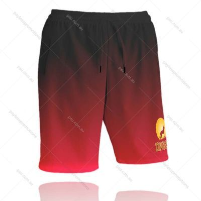 SH8-K Kids Full-Custom Sublimation Long Workout Shorts With Pockets - S Series