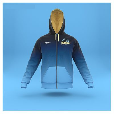 SUBZH255 Custom Made Sublimation Hoodies With Zip
