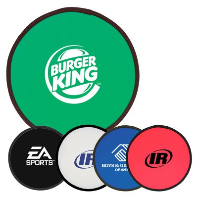 T470 Fold-Up Promotional Frisbees