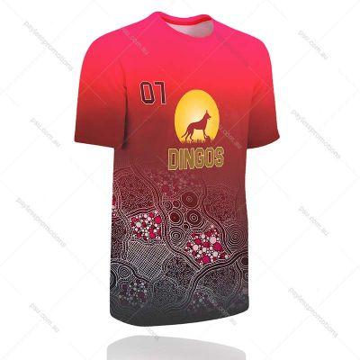 TS1-L+TEN Ladies Full-Custom Tennis Shirts - S Series