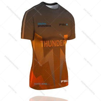 TS1-L+TF Ladies Full-Custom Touch Football Jerseys - S Series
