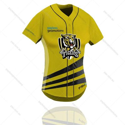 TS12-L Ladies Full-Custom Sublimation Button-Up Baseball & Softball Jerseys - X Series Elite