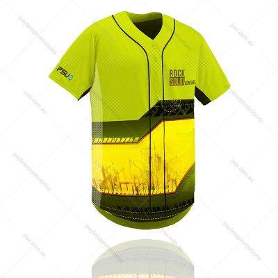 TS12-K Kids Full-Custom Sublimation Button-Up Baseball & Softball Jerseys - X Series Elite