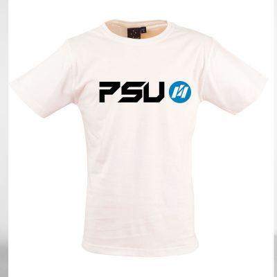 TS20-WT Classic Cotton Printed T Shirts - White Only