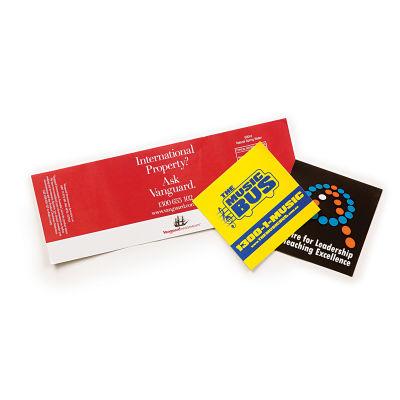 VS103 Full Colour Business Vinyl Stickers - 75mm x 210mm