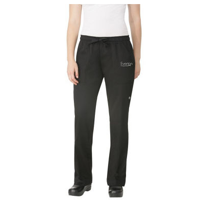 WBLK Regular Ladies Branded Chefs Pants
