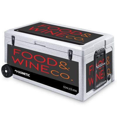 WCI-85W Dometic Cool-Ice Advertising Icebox With Wheels - 86 Litres