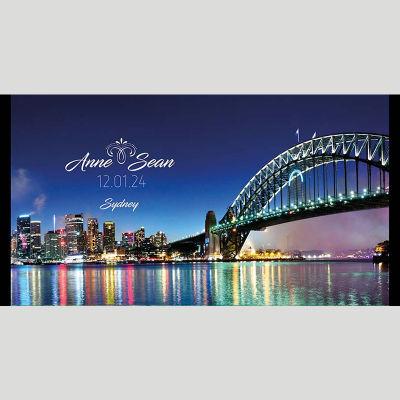 WD117 Sydney Wedding Stubby Holders