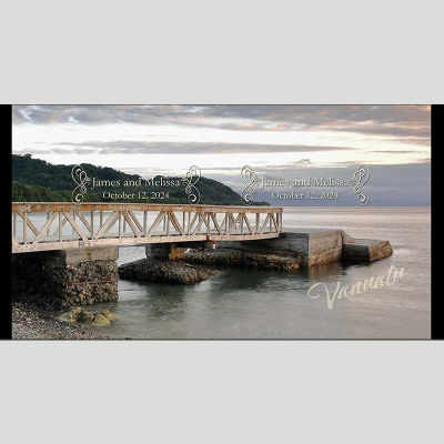 WD144 Bridge Wedding Stubby Holders