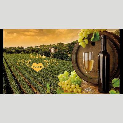 WD176 Vineyards Wedding Stubby Holders