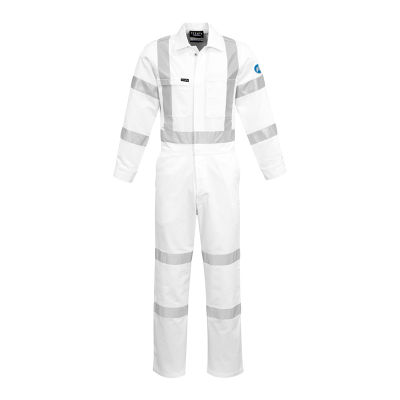 ZC620 Bio Motion X Back Branded High Visibility Overalls With Reflective Tape