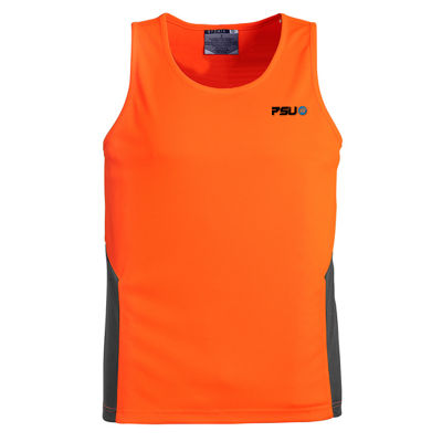 ZH239 Unisex Squad Personalised High Visibility Singlets