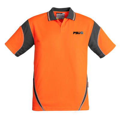 ZH248 Aztec Custom Hi Vis Polo Shirts
