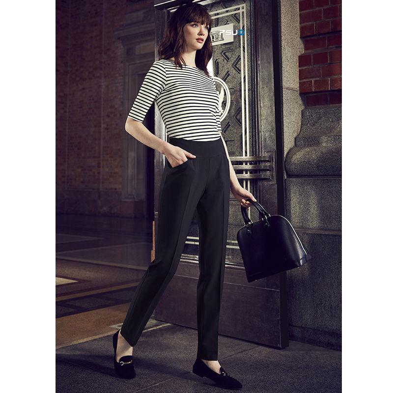 10721 Ladies Bandless Slimline Uniform Corporate Slacks