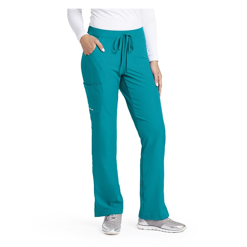 035c20a01a3 SK201 Ladies Skechers 3 Pocket Reliance Mid Rise Scrub Pants