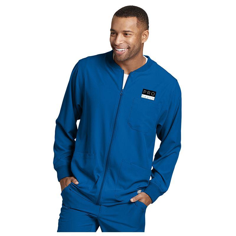 0b3241bd973 Uniforms SK0408 Skechers 3 Pocket Structure Warm Up Scrub Tops