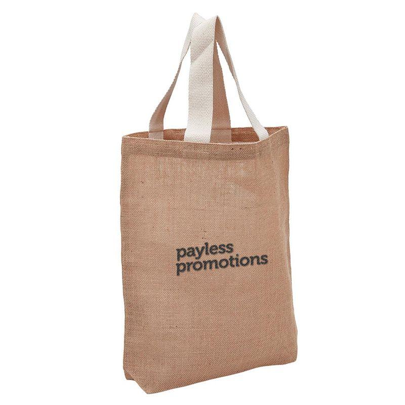 1965 Enviro Shopper Promotional Jute Bags (28cm x 42cm x 8cm)