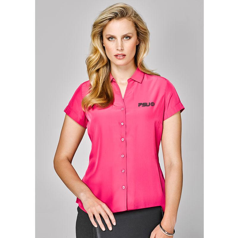 40412 Ladies Solanda Plain Custom Business Shirts