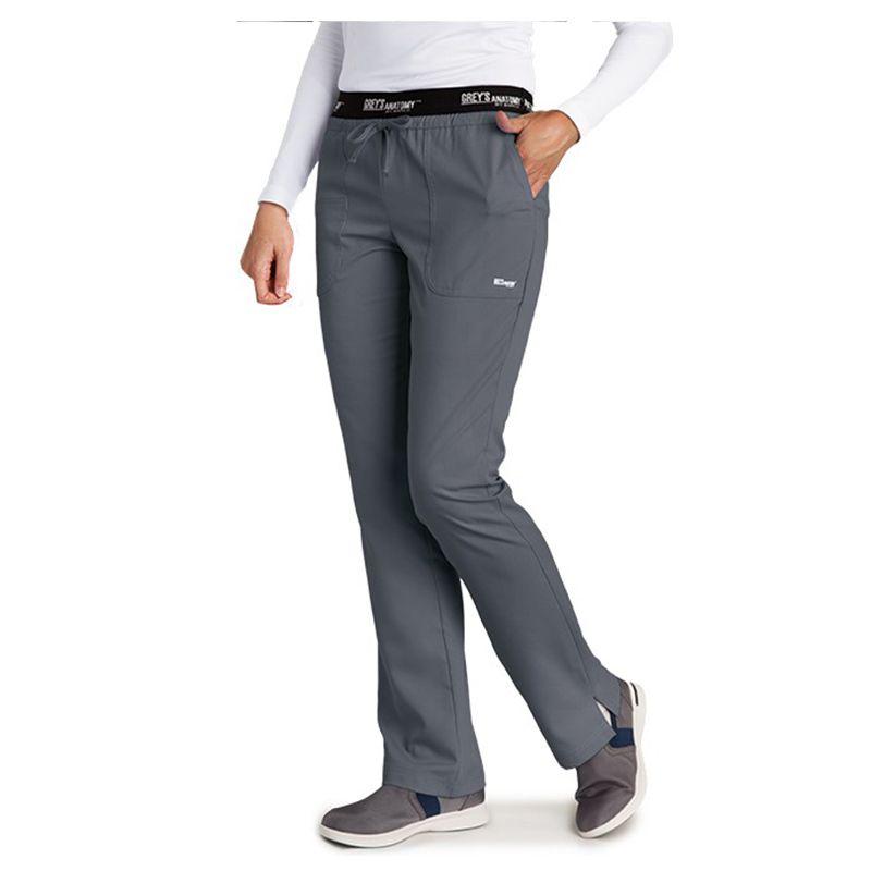 4275 Ladies Greys Anatomy 3 Pocket Active Mid Rise Uniforms Scrubs
