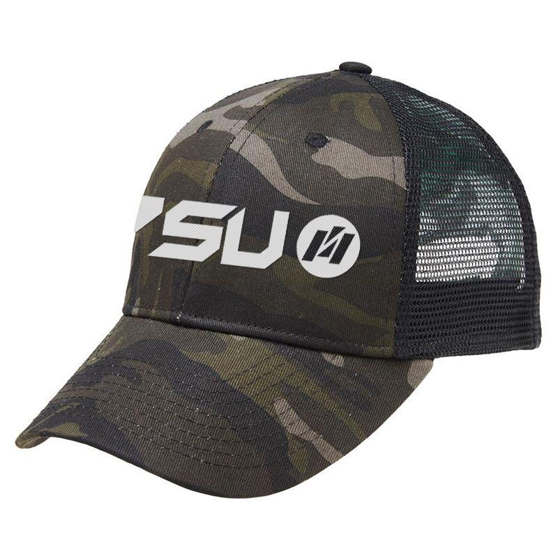 4400 Black Camo Branded Caps