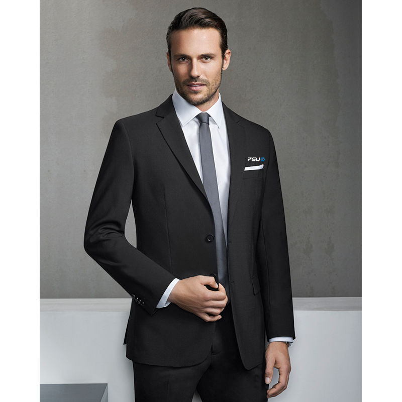 84013 Mens Slimline Jacket Logo Suit Jackets