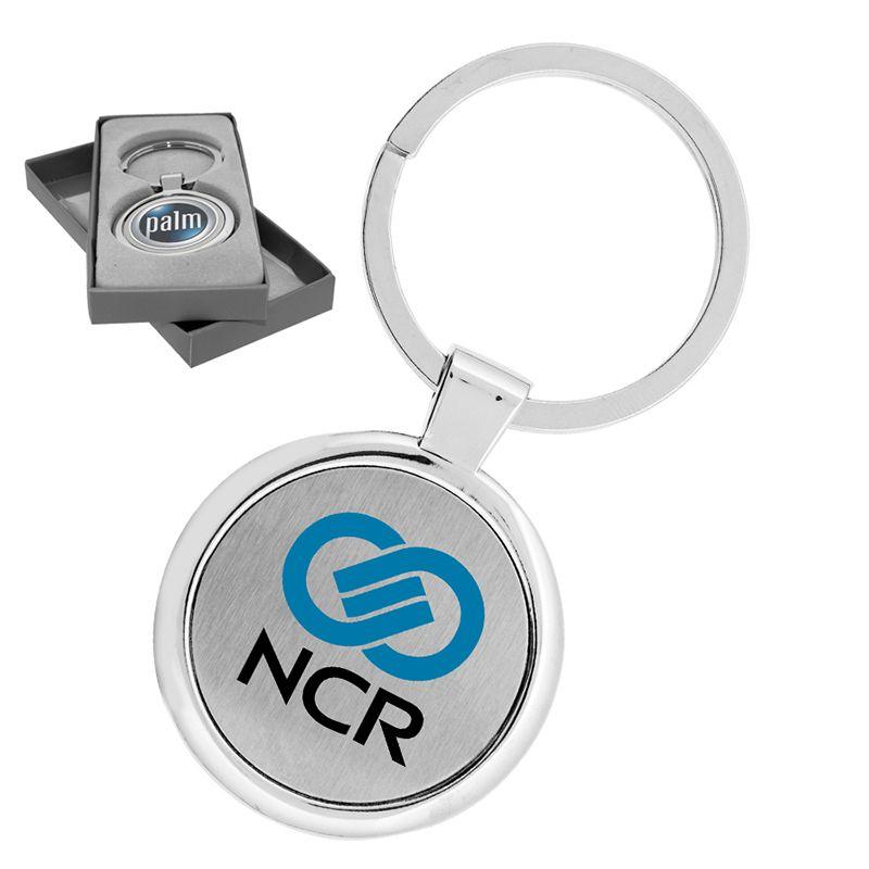 A4058 Anello Circular Personalised Metal Key Rings