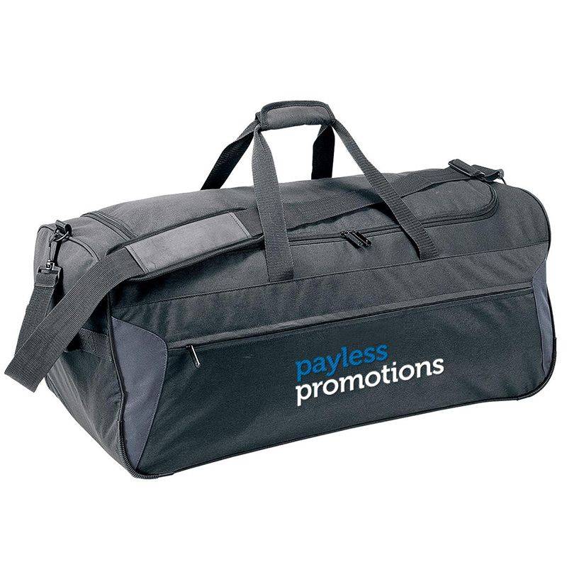 B407 Platform Wheeled Duffle Embroidered Travel Bags