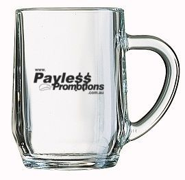 GLBM04361 280ml Haworth Custom Glass Beer Mugs