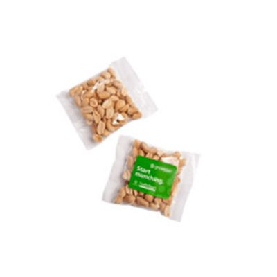 CC050H2 Salted Peanuts Filled Branded Lolly Bags - 50g
