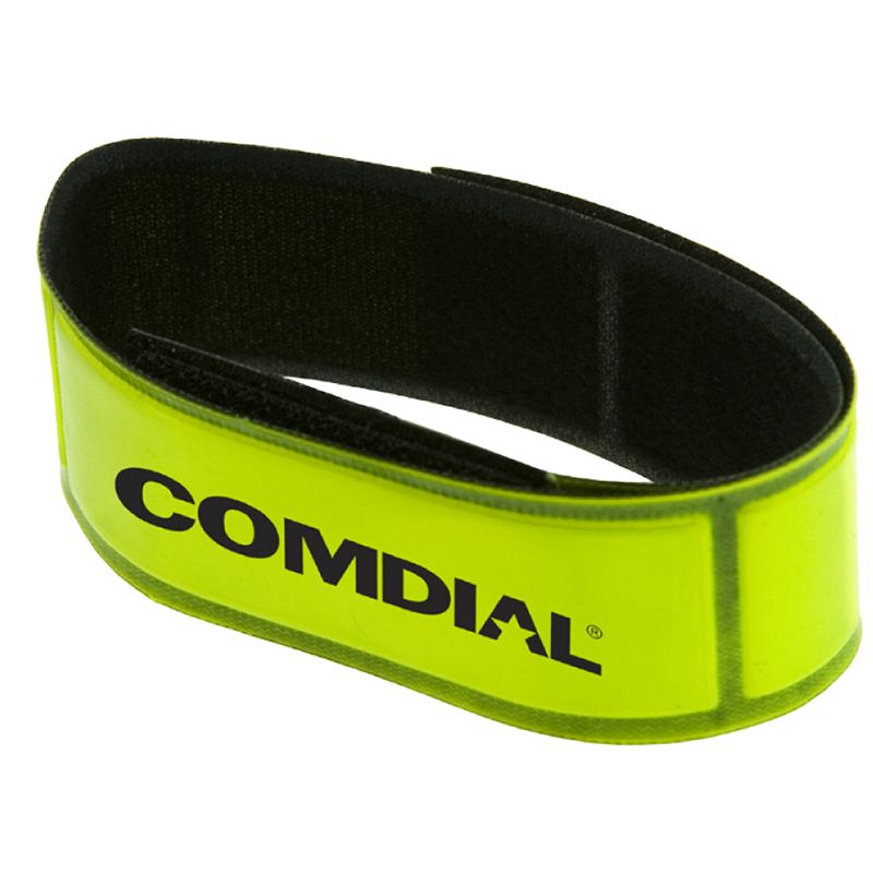 K485 Adjustable Personalised Reflective Wristbands With Velcro Closure