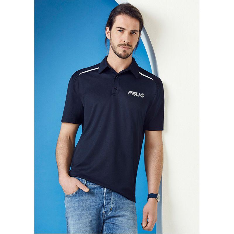 P901MS Sonar Printed Polo Shirts