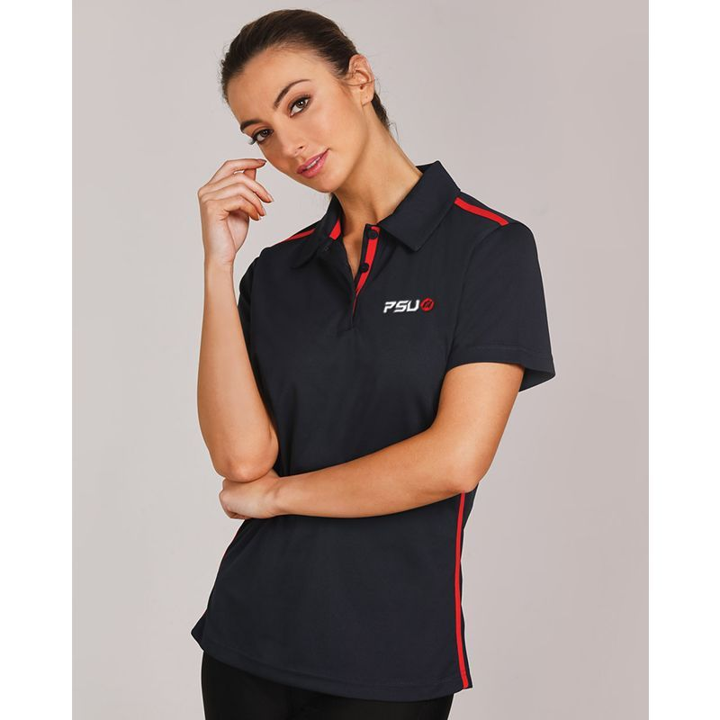 PS84 Ladies Staten Embroidered Polos