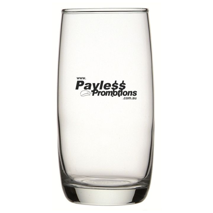 GLT5R0113 370ml Ivory Hi Ball Printed Tumblers