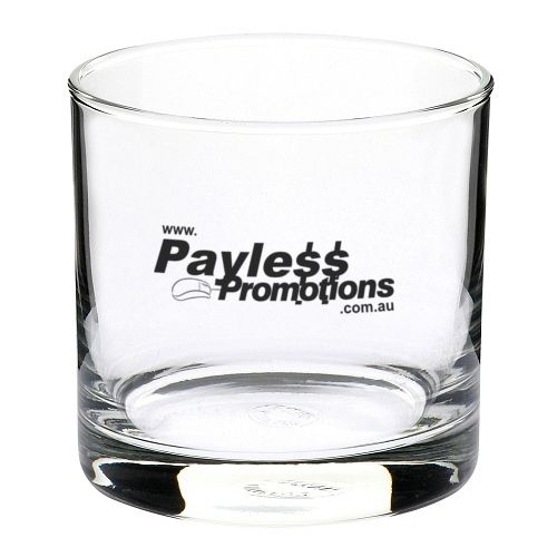 GLT330444 290ml Straights Double Old Fashioned Branded Tumblers