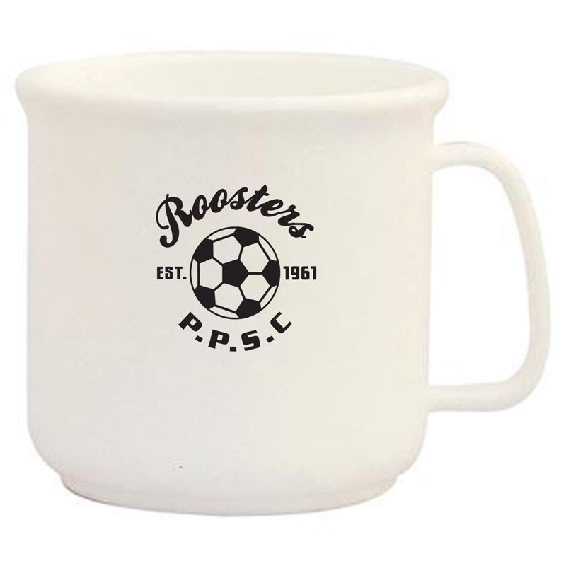 MGPLC 300ml Rover Printed Plastic Mugs