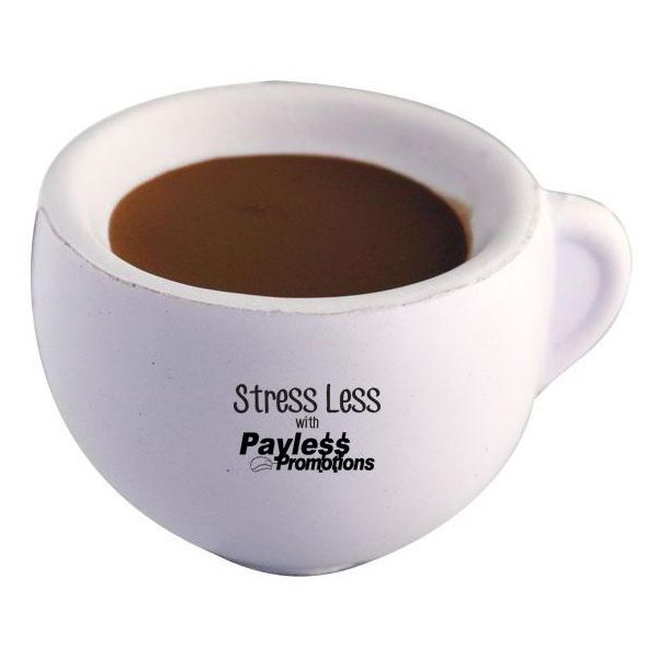 S105 Coffee Cup Promotional Office Stress Balls