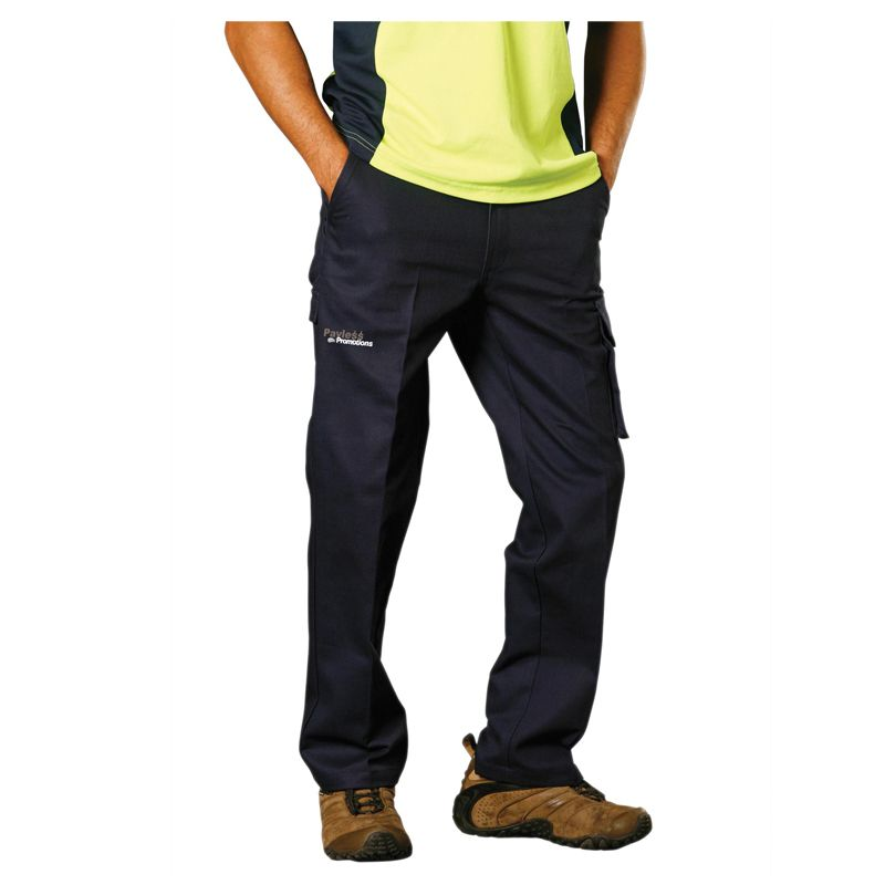 WP07 Cotton Drill Personalised Work Wear Pants (Regular)