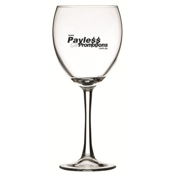 GLWG744829 420ml Atlas Burgundy Promotional Wine Glasses