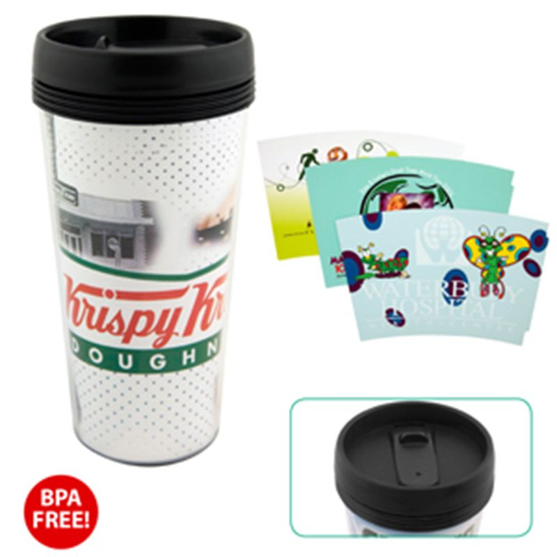 S-146 443ml Galilee Printed Sublimation Mugs