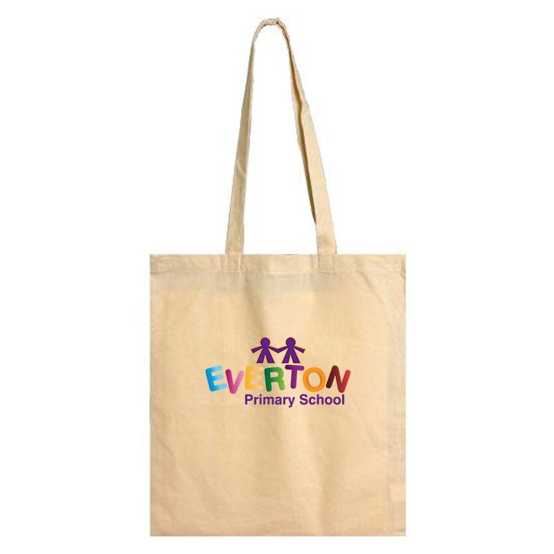 B16 Long Handle Promotional Calico Bags