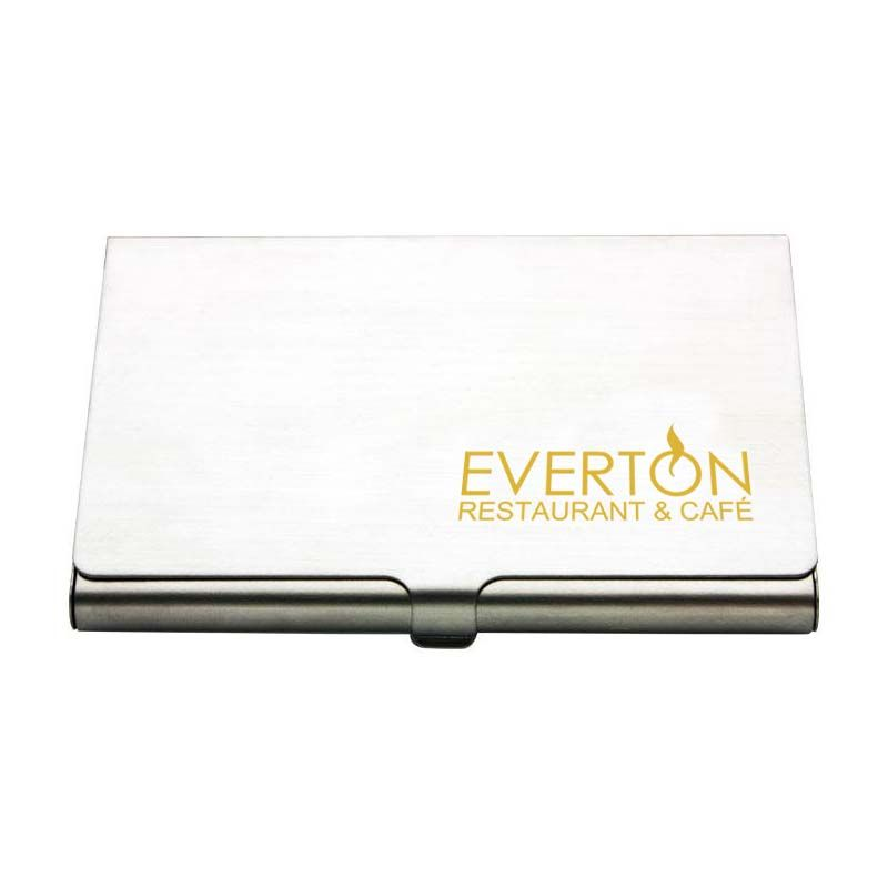 BH02 Slimline Branded Business Card Holders