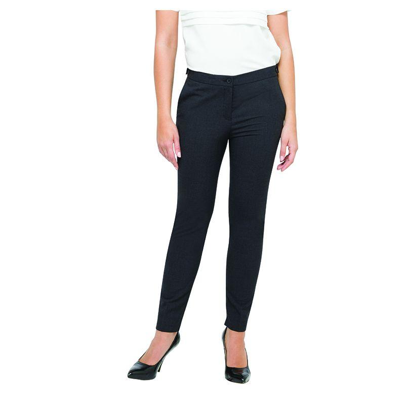 BWTSLIM08 Ladies Van Heusen Slim Wool Blend Business Corporate Slacks