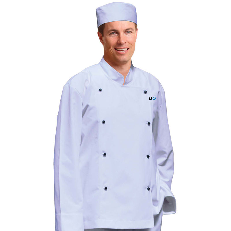 CJ01 Traditional Long Sleeve Custom Chefs Jackets
