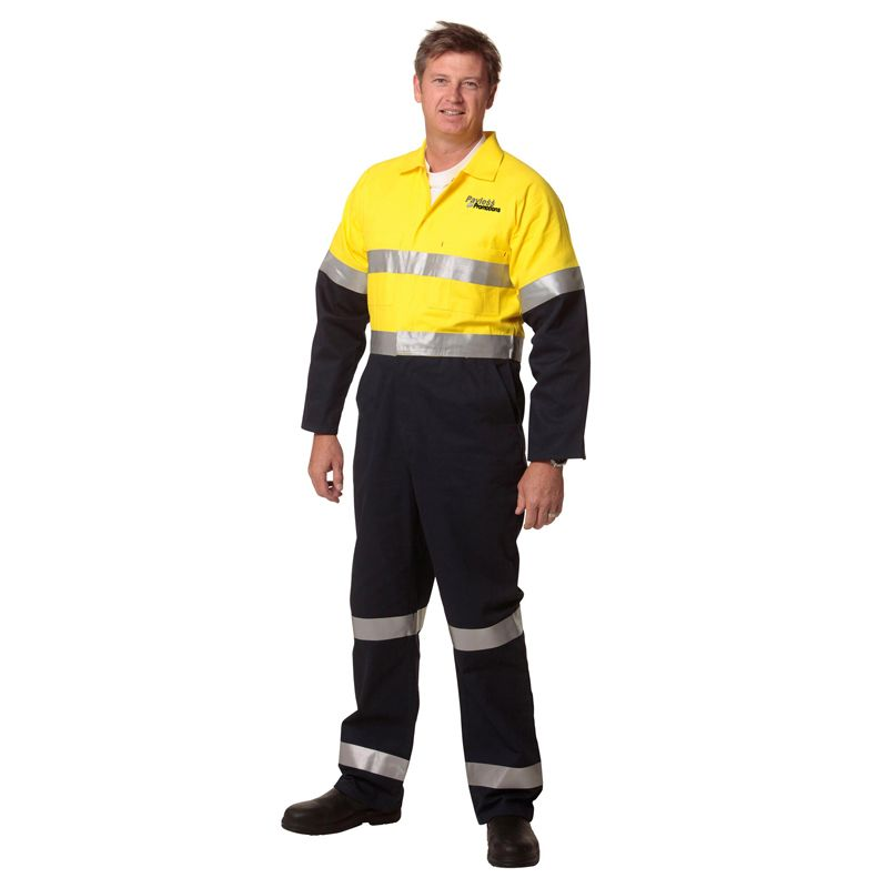 SW207 Coverall Custom Overalls With 3M Reflective Tape