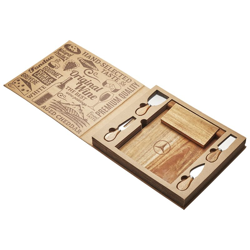 D388 Marketing Magnetic CheeseBoard & Knife Set